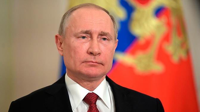 Путин создал рабочую группу Госсовета по противодействию коронавирусу