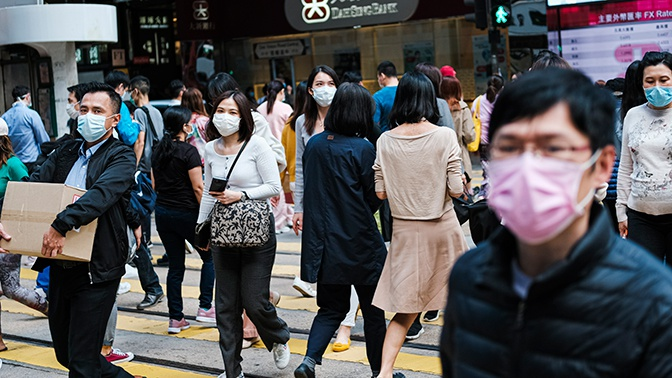 Число зараженных коронавирусом за пределами Китая превысило количество случаев в КНР