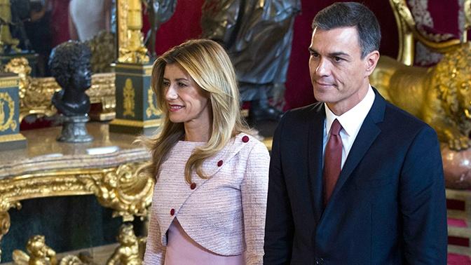 Супруга премьера Испании заразилась коронавирусом