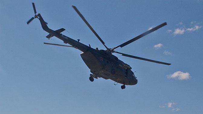 В Коми обстреляли вертолет Ми-8 с 4 членами экипажа на борту