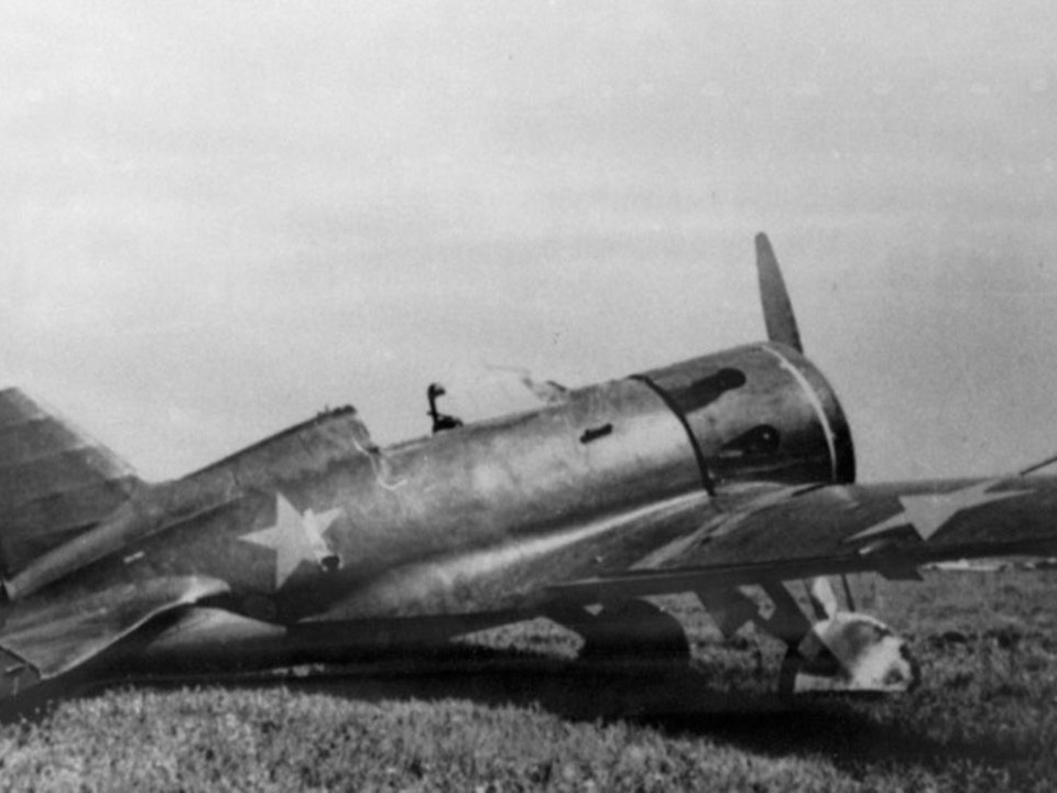 И-16 во время ВОВ
