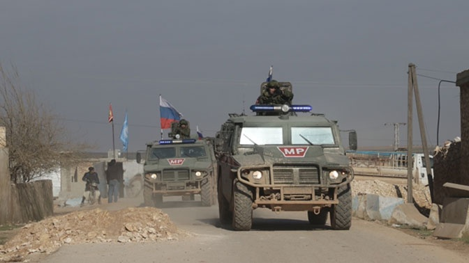 Подразделения российской военной полиции продолжают патрулирование в САР