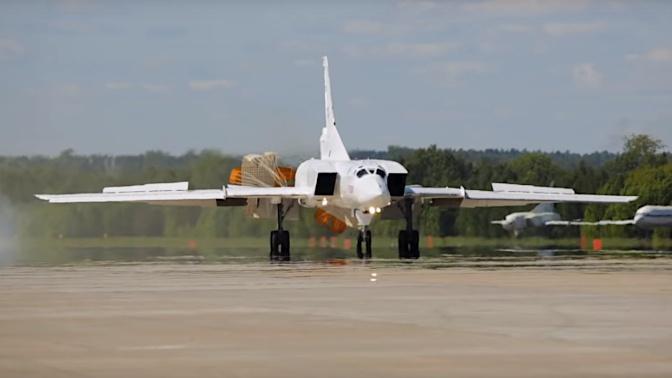 Поднялся в воздух второй опытный бомбардировщик Ту-22М3М
