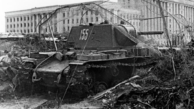 «Призрак»: как единственный танк помог сорвать наступление немцев на Москву