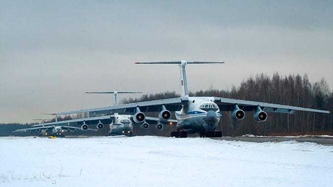 ВКС РФ создали авиационную группировку для помощи Италии в борьбе с COVID-19