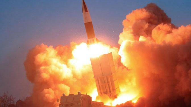 В КНДР испытали новые тактические управляемые ракеты
