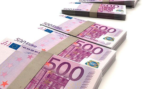 Установленный Центробанком курс евро возрос на 2,5 рубля