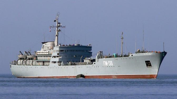 Плавучая мастерская ПМ-56 взяла курс на Средиземное море