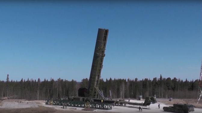 Шойгу: модернизация предприятий для серийного производства ракеты «Сармат» завершена