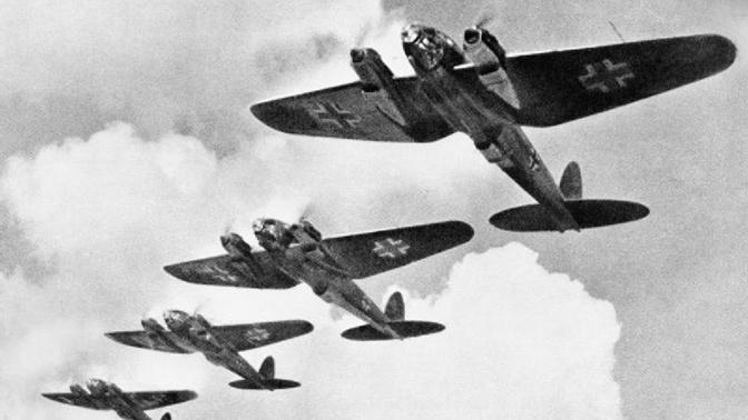бомбардировщики Heinkel