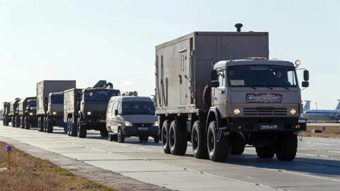 Из Рима в Бергамо: российские военные вирусологи преодолели более 250 километров