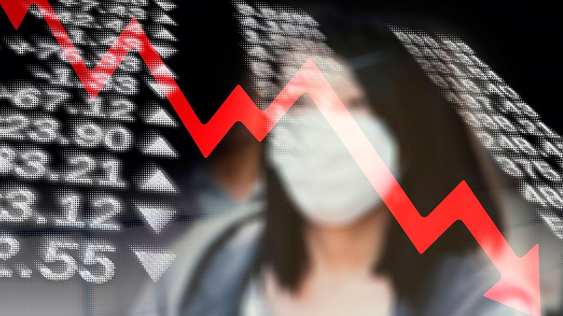 Глава МВФ сообщила о вхождении мировой экономики в рецессию