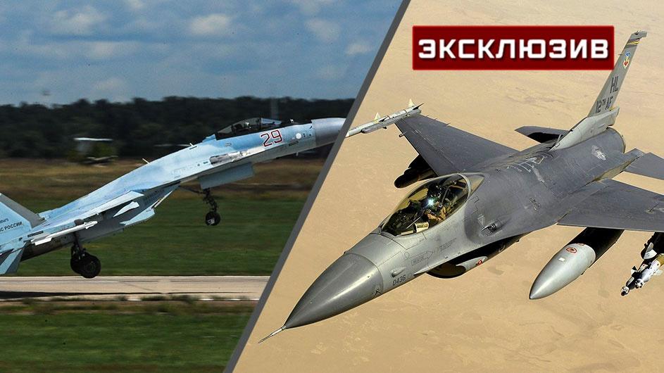 Летчик-инструктор сравнил характеристики Су-35 и F-16