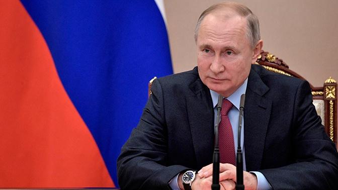 Путин назначил Матвееву главой управления по развитию информационных технологий