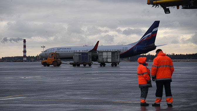 Пассажиропоток крупнейших российских аэропортов упал на 60%