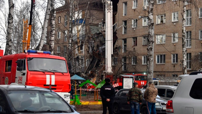 На месте взрыва в Орехово-Зуево завершены аварийно-спасательные работы