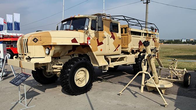 Крупная партия модернизированных минометных комплексов «Сани» поступила в военную часть