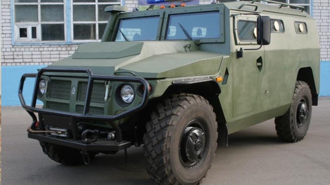 В РФ создали бронеавтомобиль для передвижения в условиях распространения коронавируса