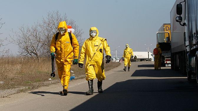 На Украине вступили в силу жесткие карантинные меры