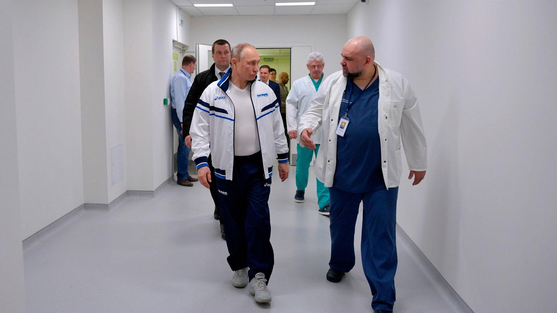 В Кремле рассказали о проверках президента на коронавирус