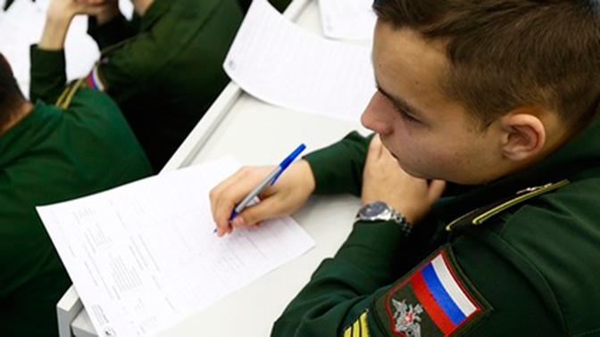 Допуск ограничен: в Минобороны РФ рассказали, как работают военные учебные заведения в период пандемии