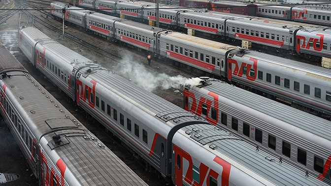 РЖД отменили десятки поездов из-за коронавируса