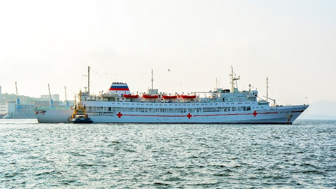 Шойгу поручил нарастить емкость госпитального судна «Иртыш» в связи с пандемией COVID-19
