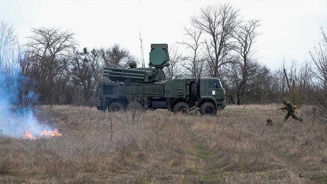 «Панцирь-С» и С-300 отразили воздушный удар «противника» под Астраханью