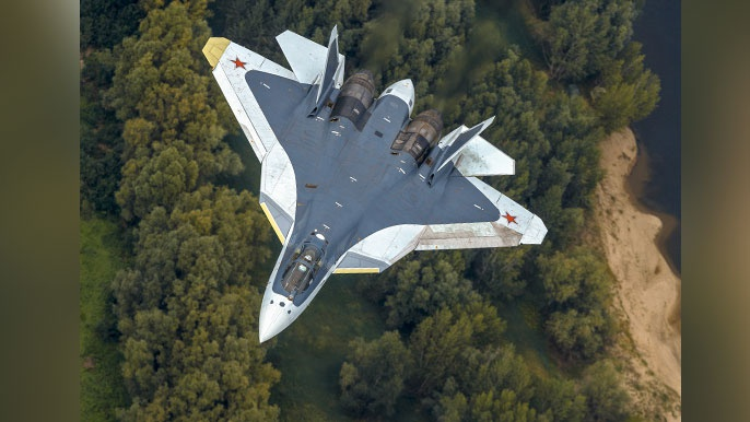 «Жемчужина российской авиации»: во Франции восхитились возможностями Су-57