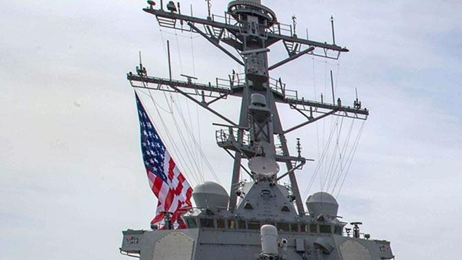 Моряки Черноморского флота взяли на сопровождение эсминец ВМС США