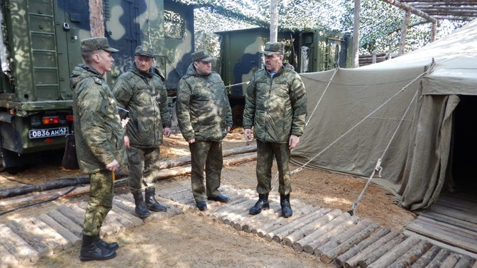 Евкуров посетил полигон Мулино под Нижним Новгородом