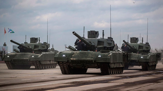 Мантуров: серийные поставки «Арматы» в войска начнутся в 2021 году