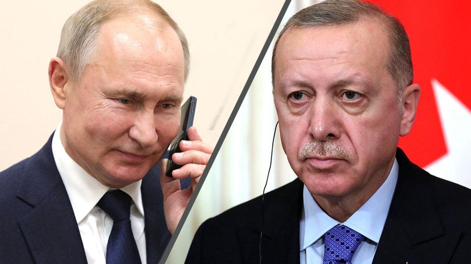 Путин и Эрдоган обсудили вопросы, связанные с распространением коронавируса