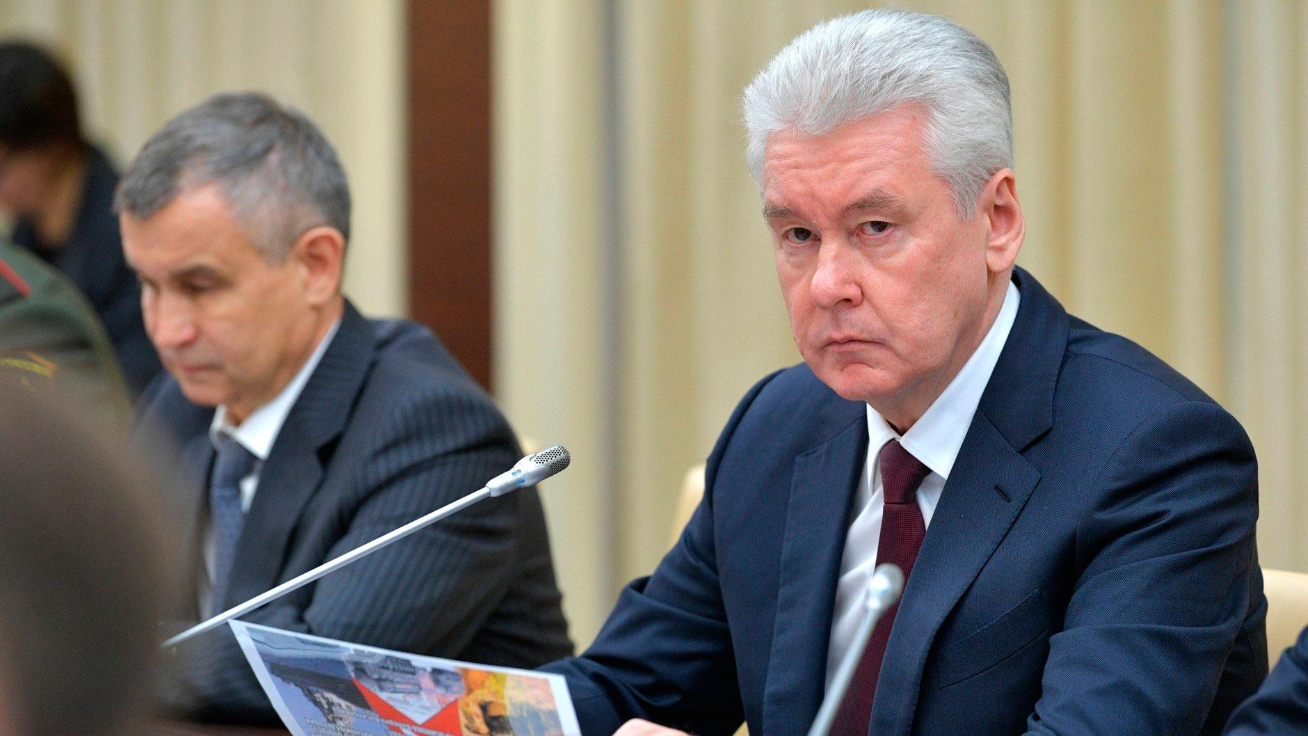 Собянин оценил динамику распространения COVID-19 в России