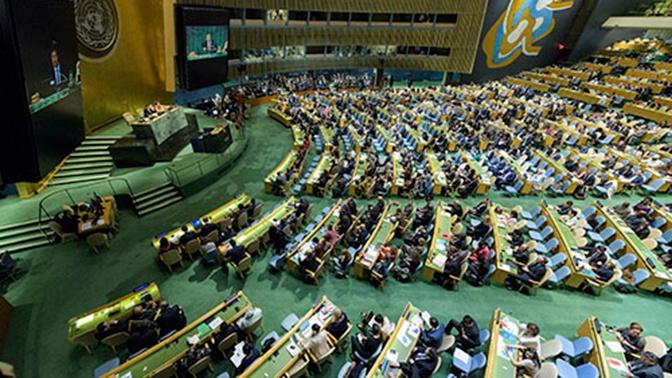 США не признали пункт о ключевой роли ВОЗ в уже принятой резолюции Генассамблеи ООН