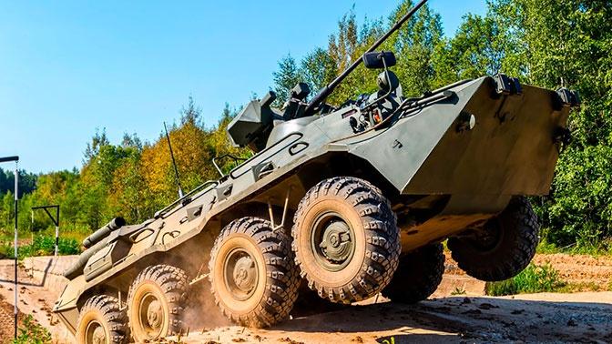 Усиленная огневая мощь: более 130 БТР-82 поступят в Сухопутные войска в 2020 году