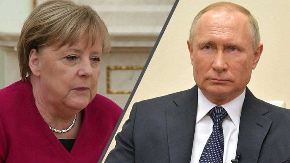 Путин и Меркель дали позитивную оценку состоявшемуся обмену удерживаемых лиц между Киевом и Донбассом