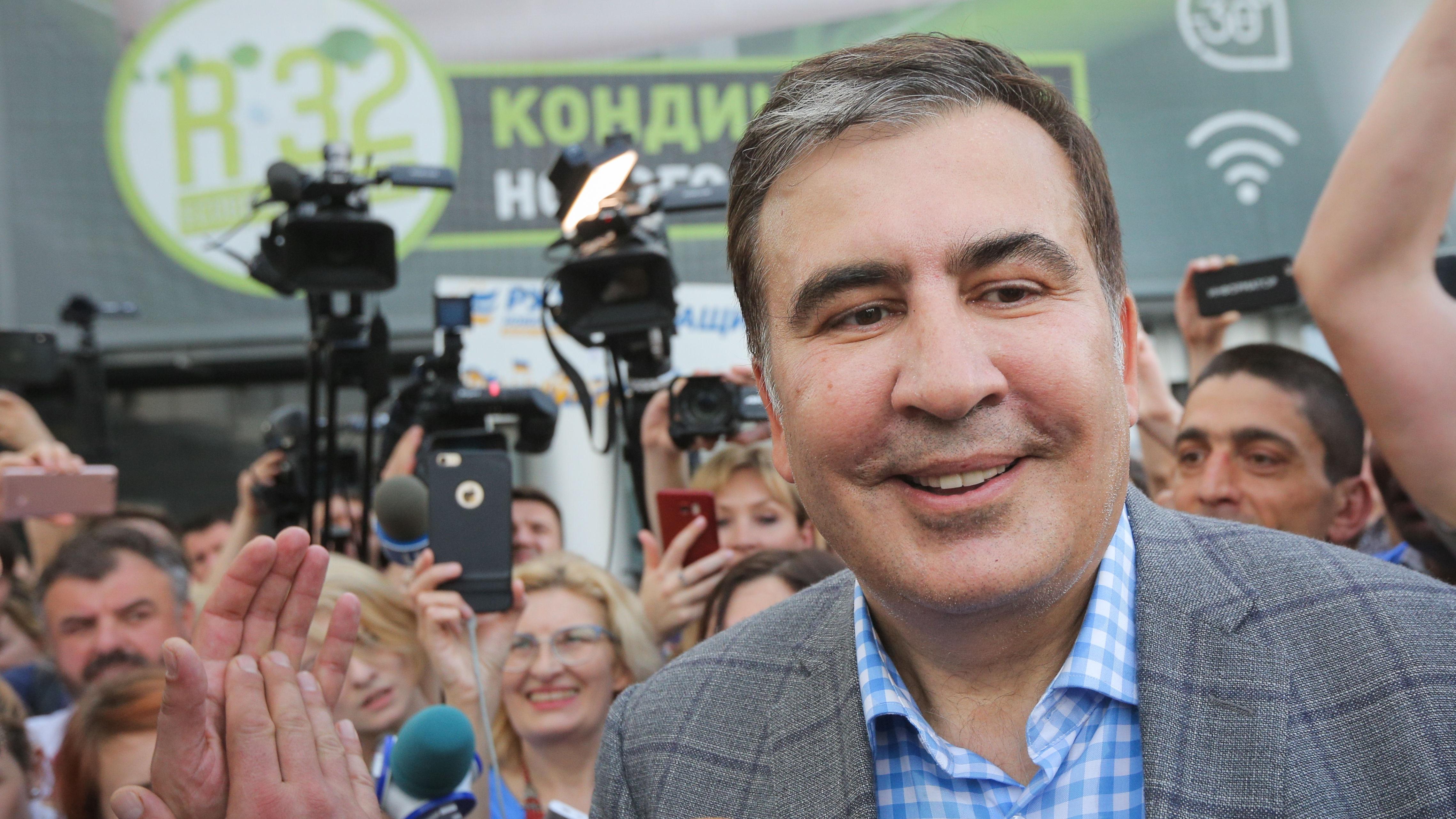 Саакашвили займется переговорами с МВФ по просьбе Зеленского