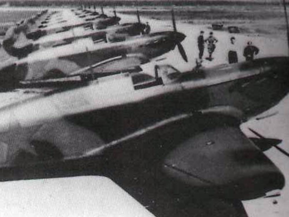 Истребители Як-1, 1941 год