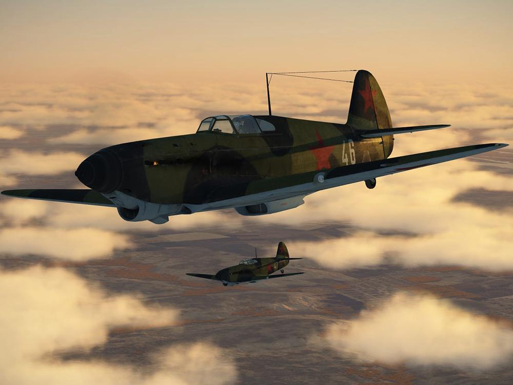 Данные варианты текстур, воссоздающие исторические окраски самолётов, выполнены Максимом Брянским.