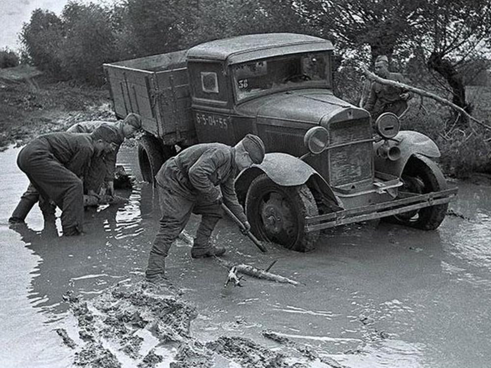 Полуторка на дорогах войны