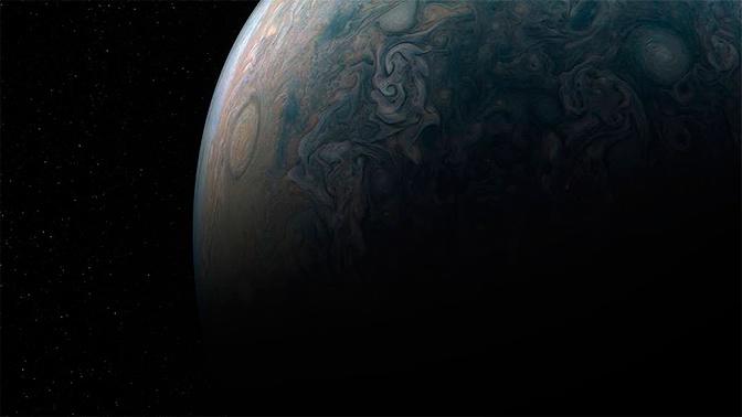 Космический гигант: обнаружена планета намного больше Юпитера