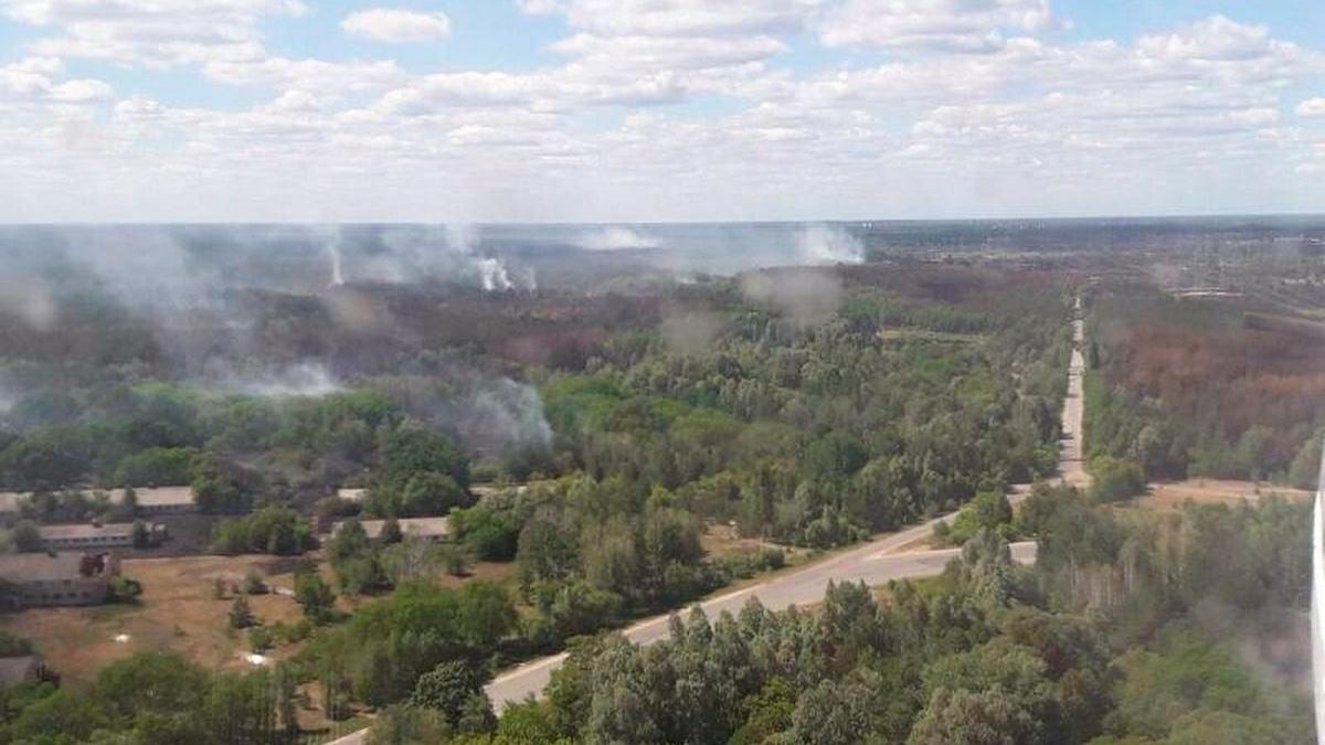 В Чернобыльской зоне отчуждения локализованы все очаги пожаров