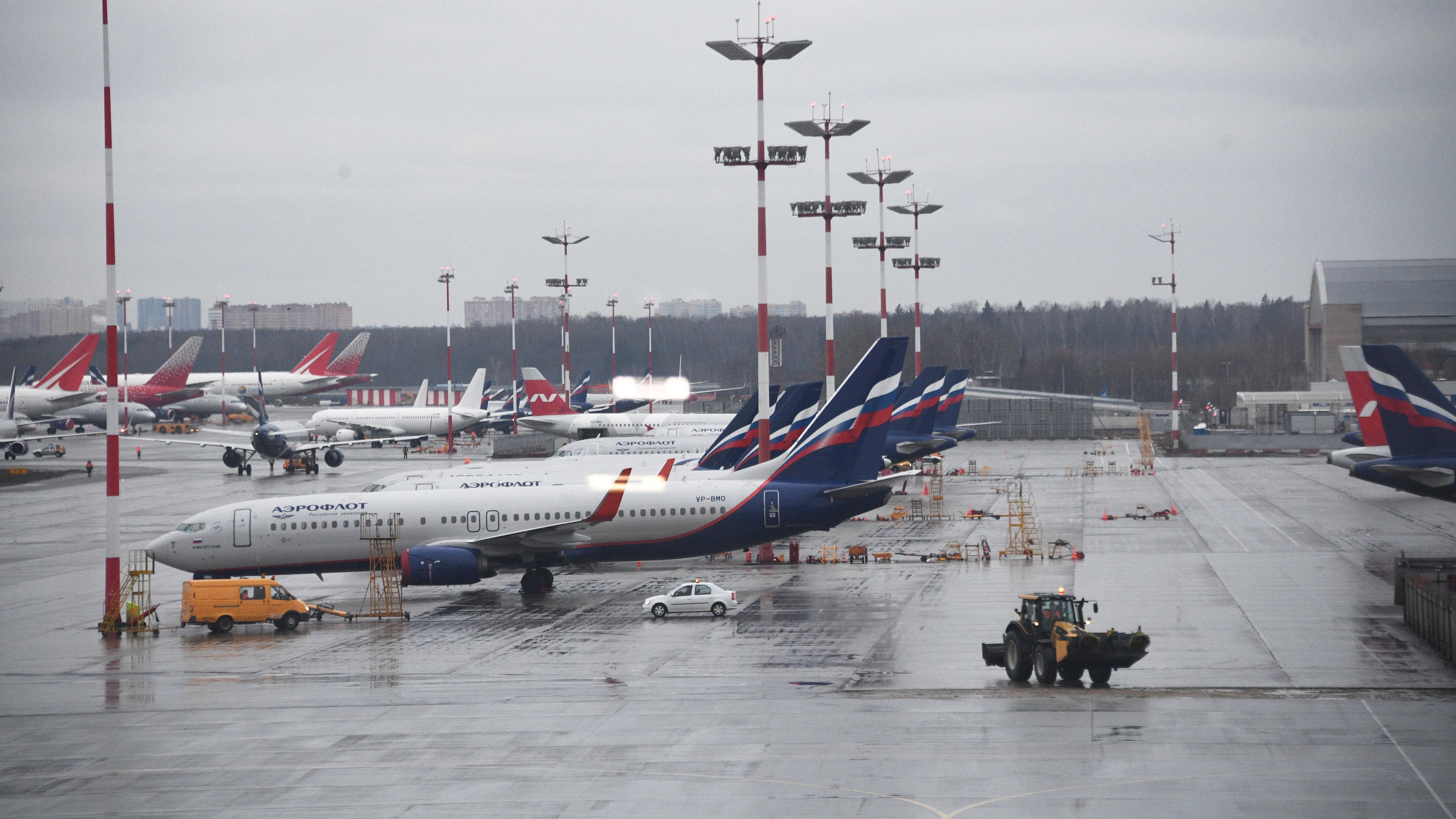 В Шереметьево из-за отказа двигателя экстренно приземлился пассажирский самолет