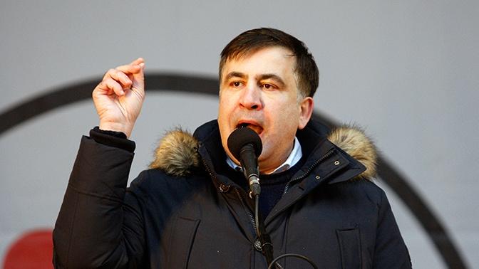 Саакашвили сравнил Украину с ребенком в песочнице, вокруг которого бушует пламя