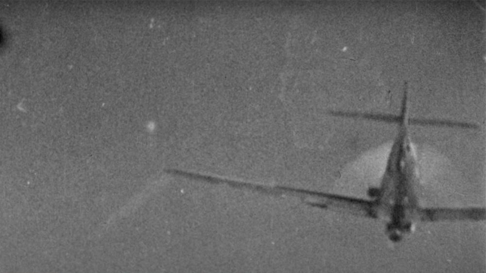 Кадры, снятые с Ла-7 командира 176-го иап П.С. Чупикова<figcaption class=