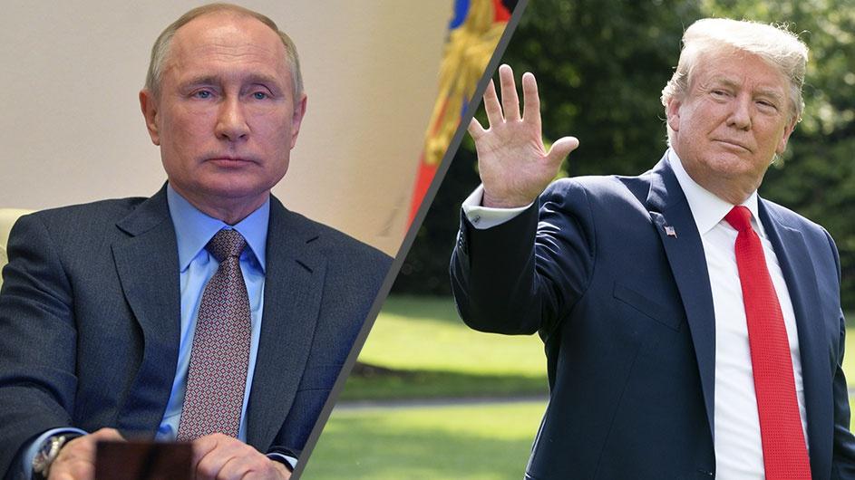 Путин и Трамп обменялись поздравлениями в связи с 75-летием победы над фашизмом