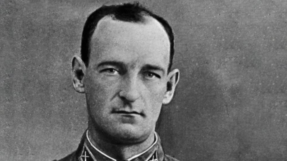 Иван Андреевич Флеров, капитан, командир первой батареи реактивной артиллерии