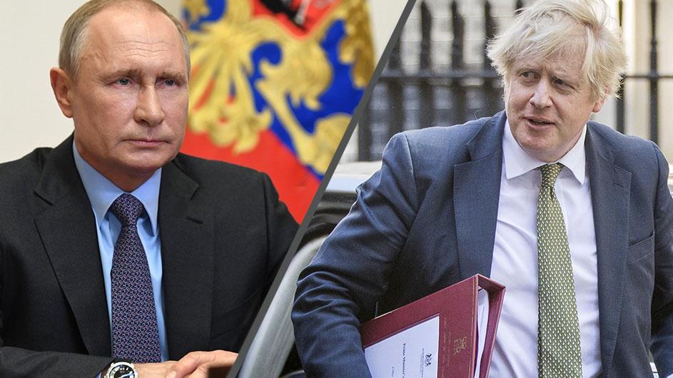 Telefonon tárgyalt Boris Johnson és Vlagyimir Putyin