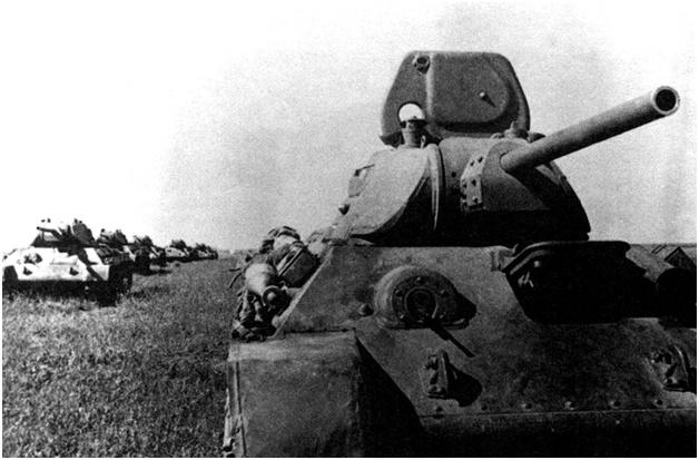 Танки Т-34. Лето 1941 года.<figcaption class=